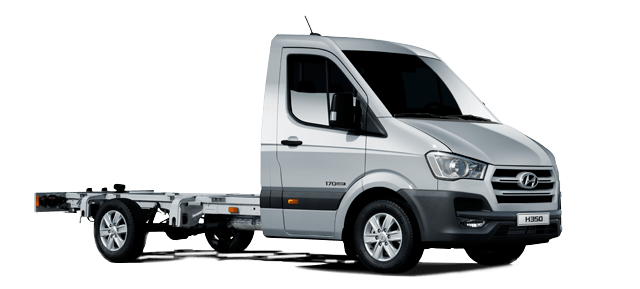 Front part of Hyundai H350